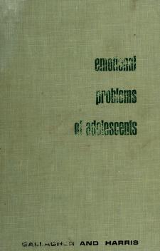 Cover of: Emotional problems of adolescents | J. Roswell Gallagher