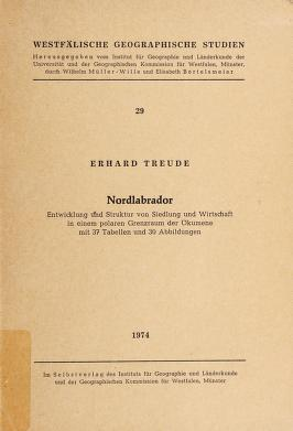 Cover of: Nordlabrador | Erhard Treude