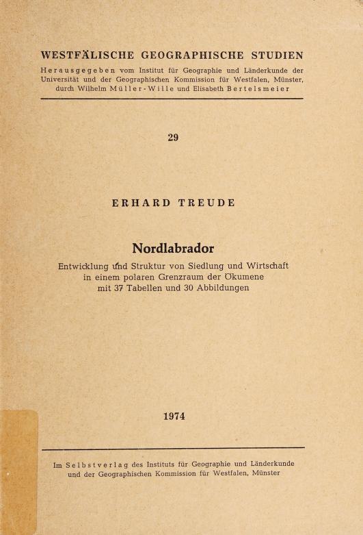Nordlabrador by Erhard Treude