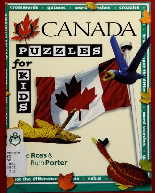 Cover of: O Canada Puzzles for Kids | Ross Jesse, Jesse Ross Jesse, Jesse Ross