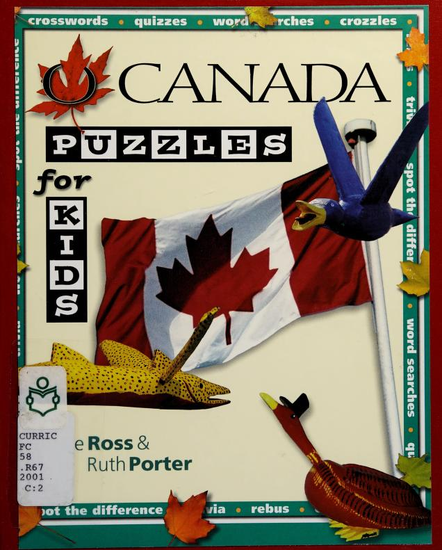 O Canada Puzzles for Kids by Ross Jesse, Jesse Ross Jesse, Jesse Ross