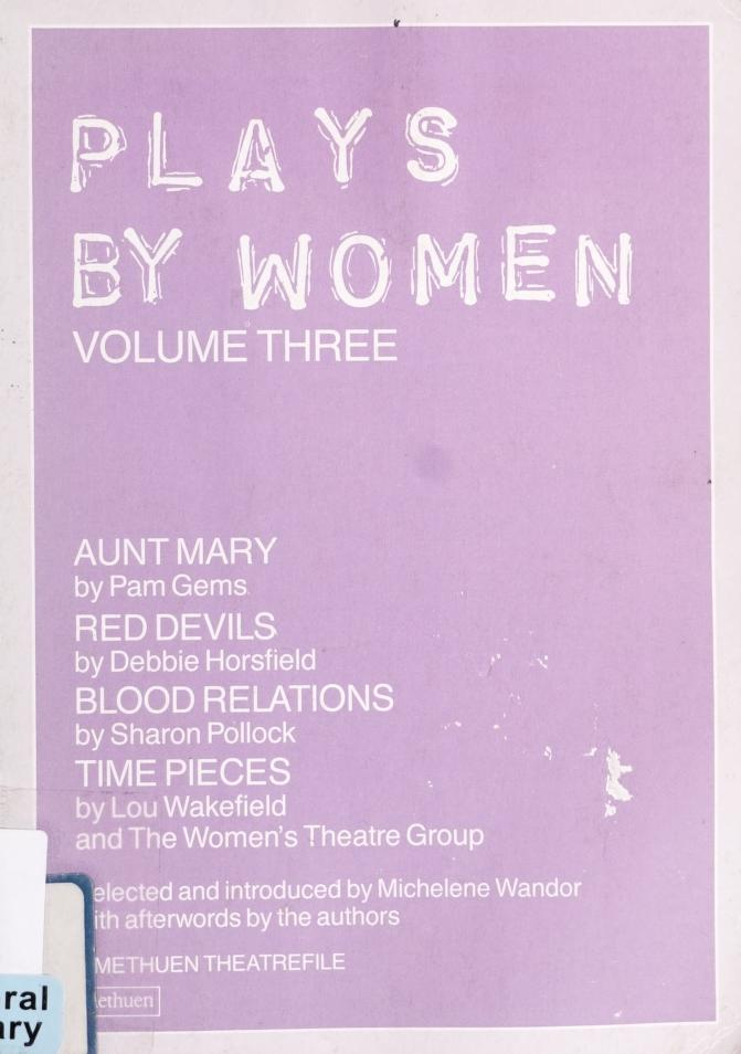 Plays by women: by