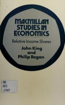 Cover of: Relative income shares | King, J. E.