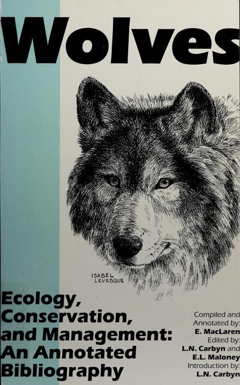 Wolves by E. MacLaren